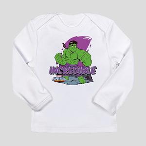 Incredible Hulk Long Sleeve Infant T-Shirt