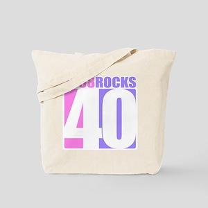 1968 Rocks - 40 Tote Bag