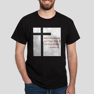Romans Cross Dark T-Shirt