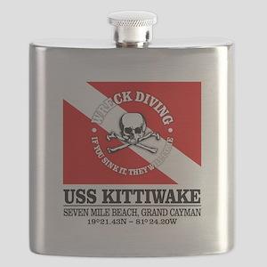 USS Kittiwake Flask