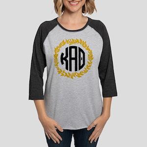 Kappa Alpha Theta Wreath Womens Baseball Tee
