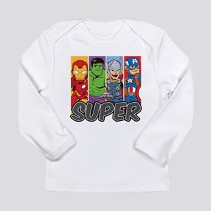 Avengers Super Long Sleeve Infant T-Shirt