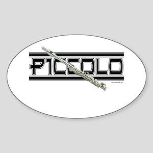 Piccolo Oval Sticker
