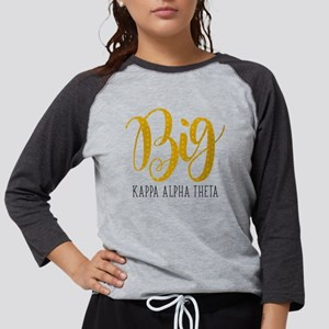 Kappa Alpha Theta Big Womens Baseball Tee