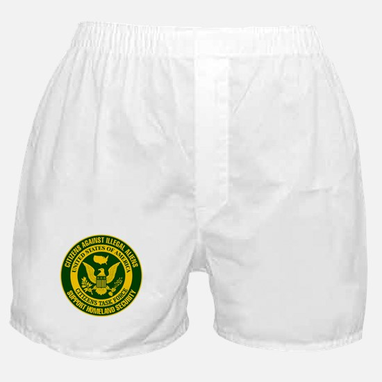 Citizens Against Illegal Aliens Boxer Shorts