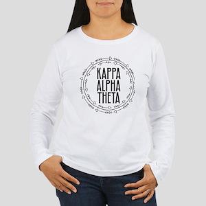 Kappa Alpha Theta Arro Women's Long Sleeve T-Shirt