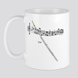 Flute Music Mug