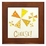 Cheese! Framed Tile