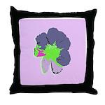 Groovy Flower Throw Pillow