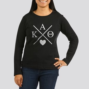 Kappa Alpha Theta Women's Long Sleeve Dark T-Shirt