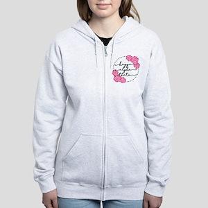 Kappa Alpha Theta Floral Women's Zip Hoodie