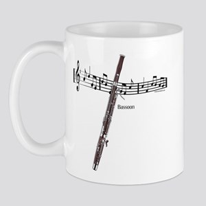 Bassoon Music Mug
