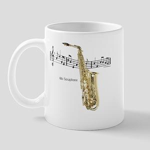 Alto Sax Music Mug
