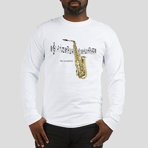 Alto Sax Music Long Sleeve T-Shirt