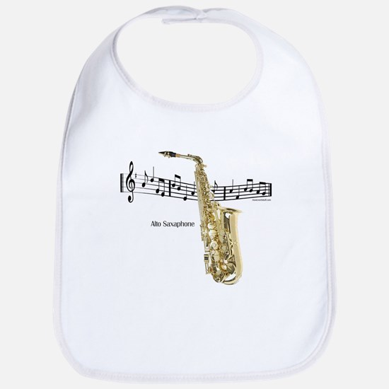 Alto Sax Music Bib