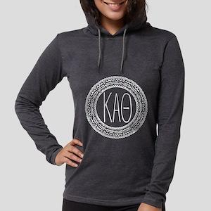 Kappa Alpha Theta Medallion Womens Hooded Shirt