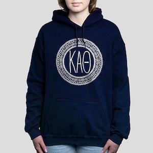 Kappa Alpha Theta Medall Women's Hooded Sweatshirt