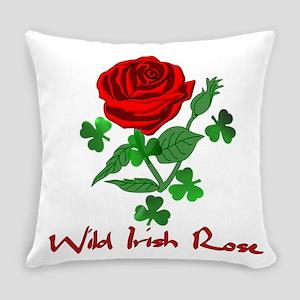 Wild Irish Rose Everyday Pillow