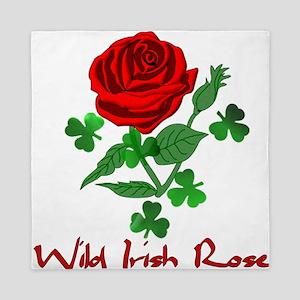 Wild Irish Rose Queen Duvet
