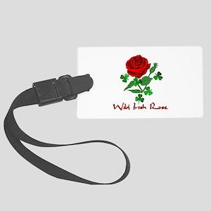 Wild Irish Rose Luggage Tag