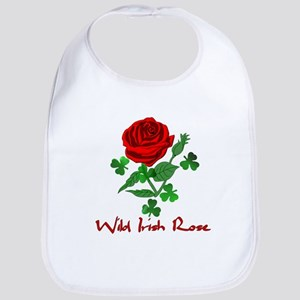 Wild Irish Rose Baby Bib