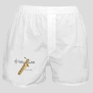 Bari Saxaphone Music Boxer Shorts