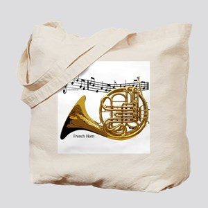 French Horn Music Tote Bag