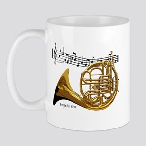 French Horn Music Mug