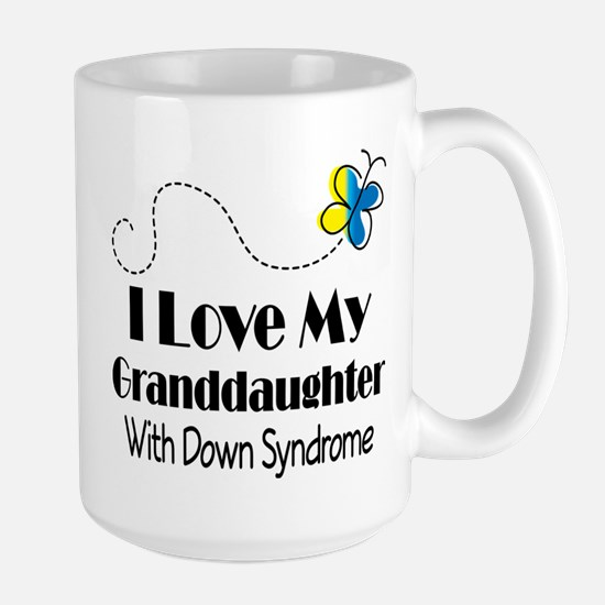 Down Syndrome Granddaughter Mugs