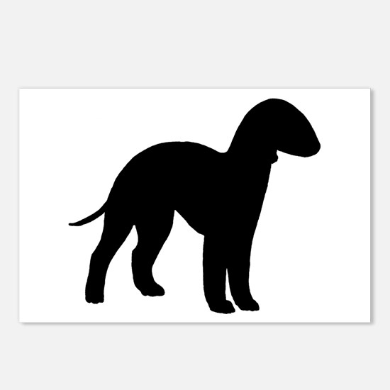 Bedlington Terrier Postcards (Package of 8)