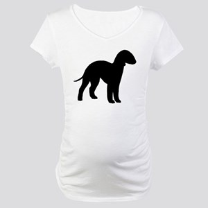 Bedlington Terrier Maternity T-Shirt