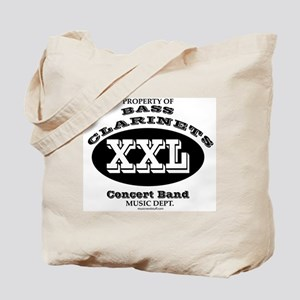 Property of Bass Clarinets Tote Bag