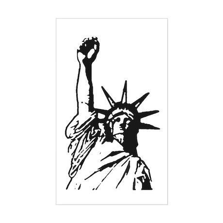 Liberty Fist sticker