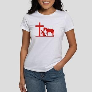COWBOY PRAYER Women's T-Shirt