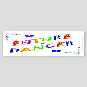 Future Dancer Kids Bumper Sticker