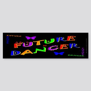 Future Dancer Kids Dark Bumper Sticker