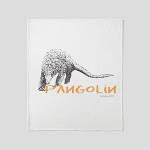 Pangolin Throw Blanket