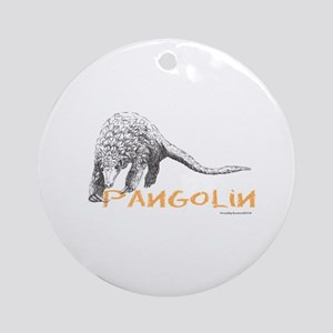 Pangolin Round Ornament