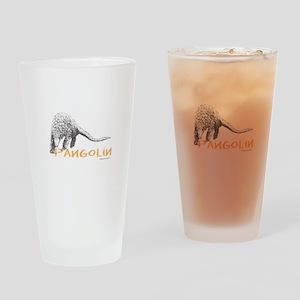 Pangolin Drinking Glass