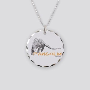 Pangolin Necklace Circle Charm