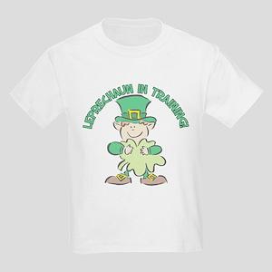LEPRECHAUN IN TRAINING! Kids Light T-Shirt