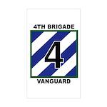 4th BDE Rectangle Sticker