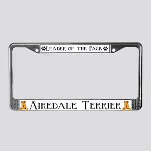 AIREDALE TERRIER LICENSE PLAT License Plate Frame