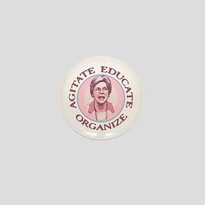 Warren - Agitate Mini Button
