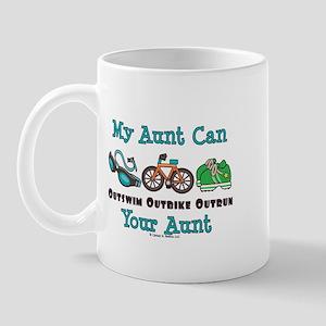 Aunt Triathlete Triathlon Mug