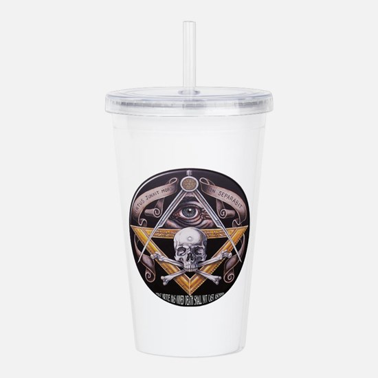 Square and compasses Acrylic Double-wall Tumbler