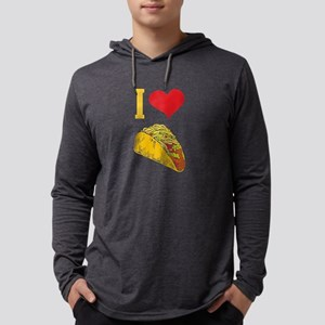 I Love Tacos Shirt Long Sleeve T-Shirt