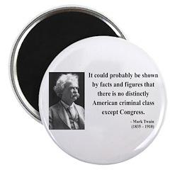Mark Twain 16 Magnet
