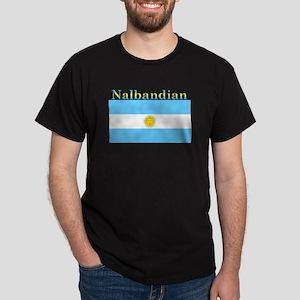 Nalbandian Argentina Flag Dark T-Shirt