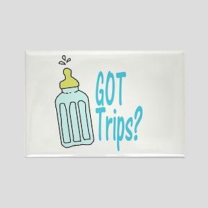 Got Trips? Rectangle Magnet